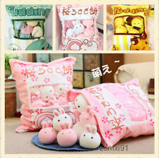 Japanese Sweet Cushion Double Plush Doll Toy Bedding Kawaii Dakimakura #Tr35