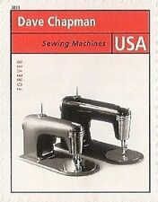US 4546h American Industrial Design Sewing Machine forever single MNH 2011