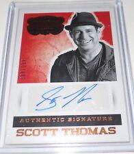 2014 Panini Country Music Scott Thomas Autograph Trading Card #S-SCT 384/394