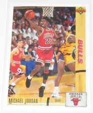 1991/92 Michael Jordan Chicago Bulls NBA Basketball Upper Deck Base Card #44 NM