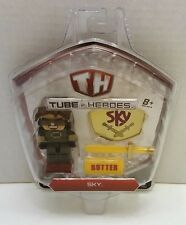 Tube Heroes 2.75 inch Action Figure with Accessories - Sky NEW  Great Gift Idea