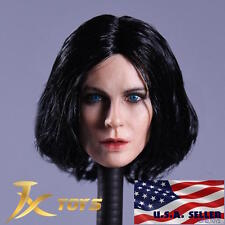 1/6 Kate Beckinsale Female Head Selene Underworld For Phicen HotToy Figure ❶USA❶