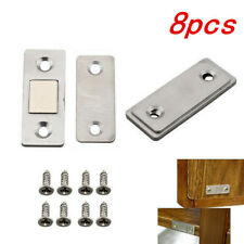 8x Ultra Thin Strong Magnets Door Cabinet Cupboard Magnetic Catch Latch Slim