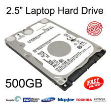 "500GB 2.5"" SATA Internal Hard Disc Drive HDD for Dell Latitude D630 Laptop"