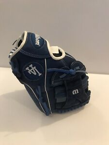 Wilson A450 LA Dodgers 12'' Blue 12U Baseball Glove Mason of California