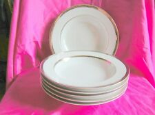 """Marks and Spencer Stylo 6 x Soup Plates Bowls 9"""""""