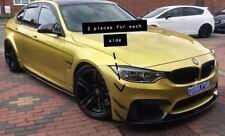 BMW M3 M4 Carbon Front Bumper Canards 4 piece F80 F82 Canard Flaps Winglets