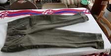 Post Wwii Swedish Army Wool Trousers M39 Mens Approx. 30 x 30 unused