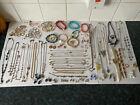 Job Lot / Bundle Of Costume Jewellery - Necklaces, Bracelets, Rings, Earrings