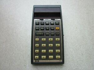 Hewlett Packard Calculator HP 37 E Original 1978
