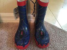 New Western Chief Spider Everlasting Boys Printed Rain Boots. Size 12 (EU 30)