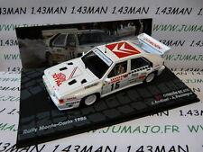 voiture 1/43 IXO Altaya Rallye : CITROËN BX 4TC Monte Carlo 1986 Andruet #15