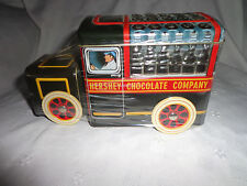 """2000 Hershey's Kiss Truck Vehicle Series Canister #1 Metal Sealed w/kisses 7.5"""""""
