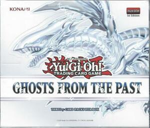 GHOSTS FROM THE PAST FACTORY-SEALED DISPLAY BOX, IN STOCK! GET YOURS 1ST!