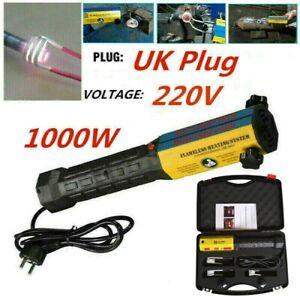 1000W Car Induction Ductor Magnetic Heater Remover Flameless Heat Gun +3 Coils
