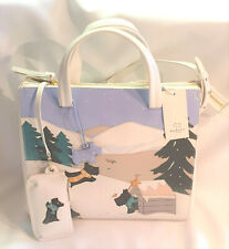 Radley Signature At Home in the Snow Multiway Grab Bag, Coin purse Dust Bag BNWT