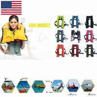 Automatic Inflatable Swimming Life Jacket Fishing Life Vest Jacket Adult Unisex