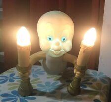 Vintage Casper The Ghost Candelabra Lamp with Lights
