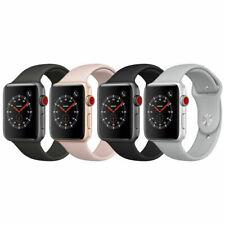 Apple Watch Series 3 38mm 42mm Aluminum GPS + GSM Cellular 4G LTE Smartwatch