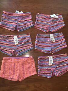 California Kisses Dancewear Juniors Small Lot NWT 6 Piece