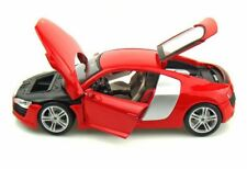 AUDI R8 RED 2008 HARD TOP MAISTO 1/18 PREMIERE EDITION SCALE 1:18 ROT ROUGE