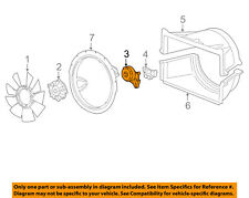 GM OEM Cooling Fan-Pulley 98062861