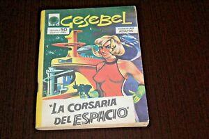 GESEBEL #1 1972 URUGUAY COMIC BOOK Horror Sci Fi Fantasy MAX BUNKER Magnus