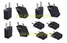10PCS X US USA to EU Euro Europe AC Power Plug Converter Travel Charger Adapter