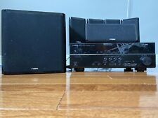 Yamaha RX-V373 HDMi Dolby Receiver W/ Speakers And Subwoofer