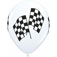 Party Supplies Birthday Boys Decorations Car Racing Flags 28 cm Balloons Pk10