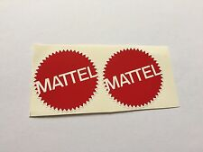 Back To The Future Hoverboard Mattel Decal Stickers Upgrade Set Of 2