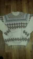 Vintage The Icelandic Baggy Shag Wool Sweater Lord Jeff XL