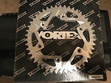 VORTEX REAR SPROCKET 46 Tooth Silver 225-46 MOST HONDA DIRT CR125R CR250R etc.