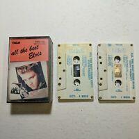 Cassette Tape Elvis Presley All The Best Elvis 2 Cassettes