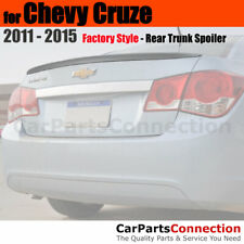 Painted Abs Trunk Spoiler For 11 Chevy Cruze Sedan Wa505q Crystal Red Metallic Fits Cruze