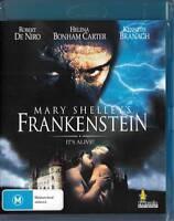 MARY SHELLY'S  FRANKENSTEIN - ROBERT DE NIRO -  NEW BLU-RAY FREE LOCAL POST