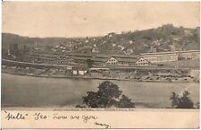 Pittsburgh Steel Co. in Monessen PA Postcard 1907