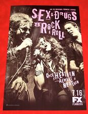 SDCC Comic Con 2015 Sex, Drugs and Rock & Roll Poster 11 by 17 Denis Leary