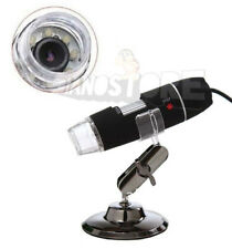 MICROSCOPIO DIGITALE 40X 1000X USB PC NOTEBOOK FOTO VIDEO 2.0 MPX 8 LED STAFFA