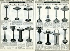 1940 3 Page Print Ad of Cigar, Pipe & Cigarette Smoking Stands trophy leader