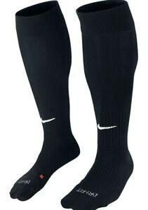 Nike Dri - Fit Classic Cushioned Football Socks Knee High Adult Unisex Men Black