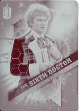 Doctor Who Timeless Magenta Printing Plate Doctors Across Time Card #6