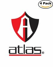 Club de Futbol Atlas Soccer Liga MX Mexico Logo 4 Stickers 3X4