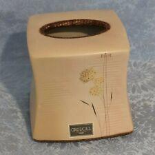 Ceramic Kleenex Tissue Box Cover Beige by Croscill