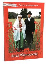 BOOK Polish Regional Folk Costumes Wilamowice ethnic fashion POLAND history art