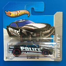THT 2013 Hot Wheels TREASURE HUNT 2010 CHEVROLET CAMARO SS POLICE CAR SHORT CARD