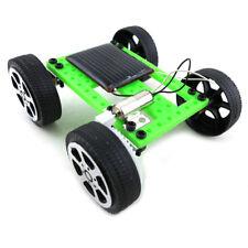 Solar Powered Racing Car Vehicle Educational DIY Gadget Kit Kids Toy Deluxe