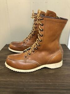 Vintage Red Wing Com-Pac Boots Men's Sz. 7 Made In USA