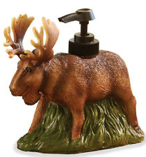 Park Designs Moose Resin Soap Dispenser