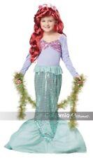 New Little Mermaid Child Halloween Costume, Ariel, by California Costumes, M